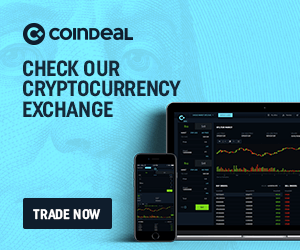 Check our cryptocurrency exchange banner bright