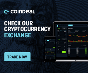 Check our cryptocurrency exchange banner dark 1
